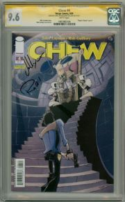 Chew #4 CGC 9.6 Signature Series Signed John Layman & Rob Guillory Image comic